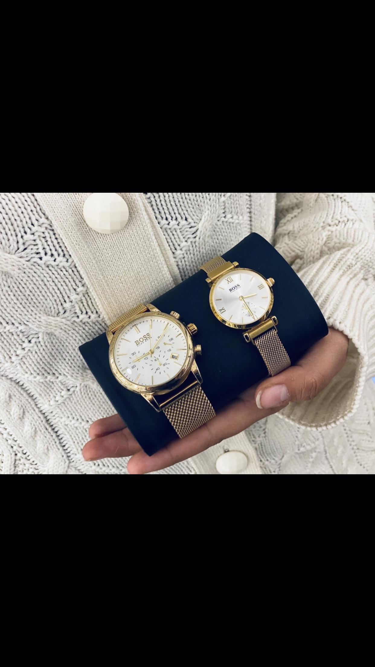 שעון גבר ואישה