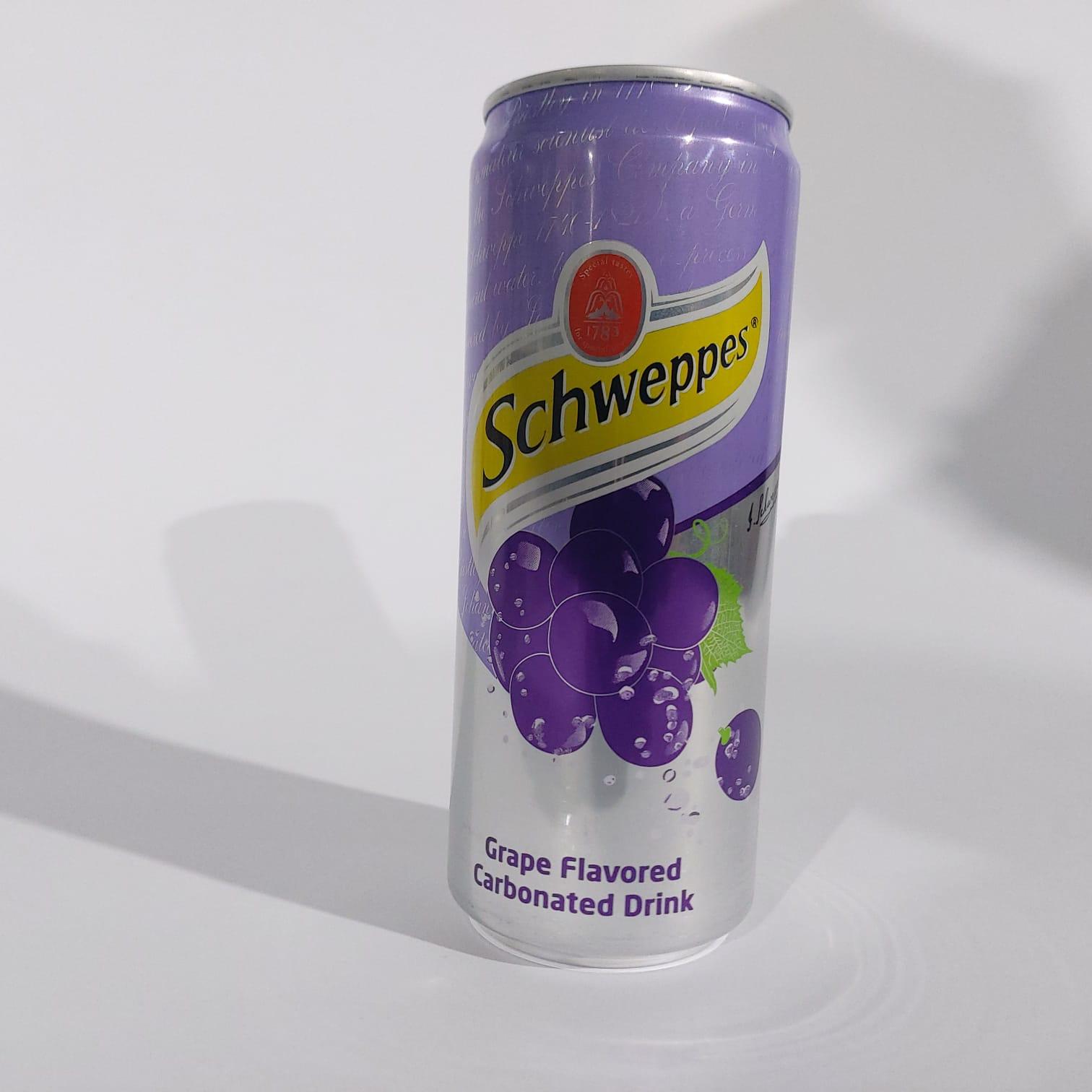 שוופס ענבים פחית קרטון 24 בקבוקים