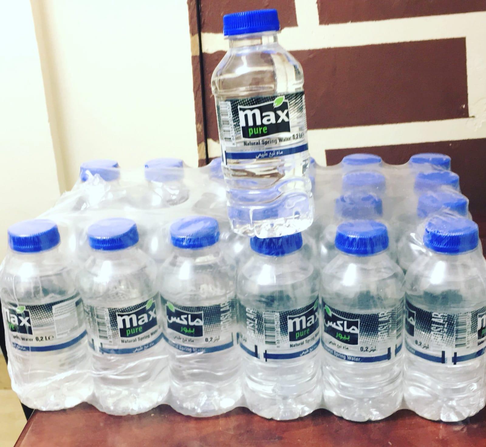 קרטון מים 200 מל' (24 בקבוקים) - 7 ב-100